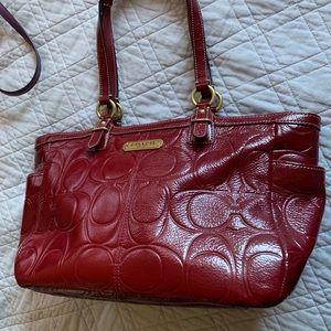 Like New!! Patent Leather Coach Purse
